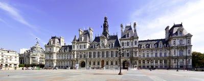 Rathaus von Paris lizenzfreies stockbild