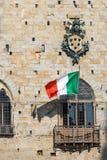 Rathaus von Pistoia Toskana Italien Stockbild