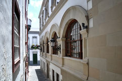 Rathaus von Santa Cruz de La Palma Stockfoto