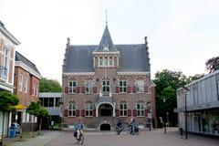 Rathaus von Veendam stockfotografie