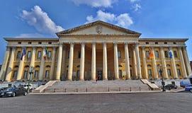 Rathaus von Verona stockbild
