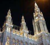 Rathaus w Wiedeń Fotografia Royalty Free