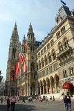 Rathaus Wien Royalty Free Stock Photography