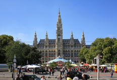Rathaus in Wien Lizenzfreies Stockfoto