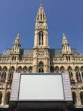Rathaus Wien Photos libres de droits