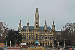 Rathaus Wien Stock Photo