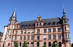 Rathaus in Wiesbaden Stock Image