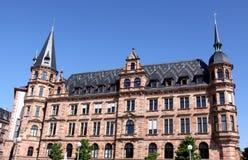 Rathaus in Wiesbaden Stock Image
