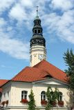 Rathaus, Zielona Gora stockfotografie