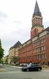 Rathausen i Kiel Royaltyfria Foton
