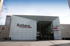 Rathausgalerie Essen Stockfotografie