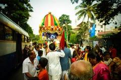 Rathayatra of iskcon Royalty Free Stock Photography
