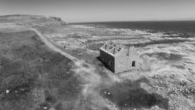 Rathlin-Insel Atlantik Co Antrim Nordirland 2018 lizenzfreies stockbild
