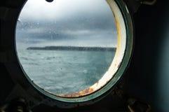 Rathlin islandÂ的轮渡 库存照片