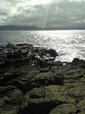 Rathlin Island view. Royalty Free Stock Image