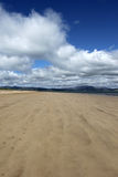 Rathmullan Beach. Walking on Rathmullan beach County Donegal Stock Photography