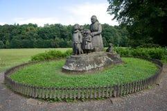 Ratiborice,捷克共和国 免版税库存照片