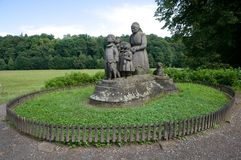 Ratiborice, república checa Foto de Stock Royalty Free