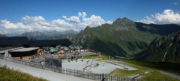 Ratikon Alpen, Vorarlberg, Austria Immagine Stock Libera da Diritti