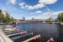 Ratinan Suvanto em Tampere, Finlandia Fotos de Stock