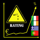 Rating Agencies and the Euro Stock Image