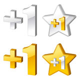Rating icons Stock Photo
