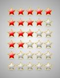 Rating stars Stock Photo