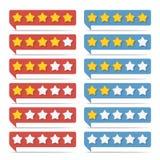 Rating Stars Stock Photos