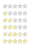 Rating Stars Royalty Free Stock Image