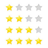 Rating Stars Stock Photography