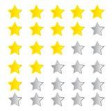 Rating Stars Stock Image