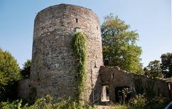 Ratingen walls. Detail about Ratingen old walls Stock Images