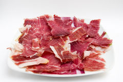 Ration of Iberian ham Royalty Free Stock Image