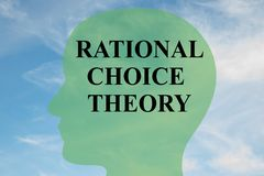 Rational Choice Theory concept Royalty Free Stock Photo