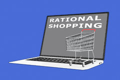 Rational Shopping concept Royalty Free Stock Photo