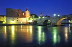 Ratisbonne, Allemagne Image libre de droits