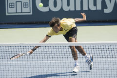 Ratiwatana at the Los Angeles Open Tennis Tourname Royalty Free Stock Images