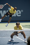 Ratiwatanas at the Los Angeles Open Tennis Tournam royalty free stock image