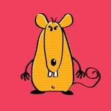 Ratón enojado Foto de archivo libre de regalías