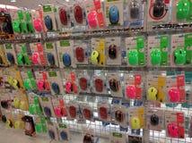 Ratón inalámbrico del multicolor para la venta Fotografía de archivo libre de regalías