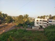 Ratnagiri. Bandar Road ,Mandavi royalty free stock photos