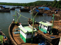 Ratnagiri Waterfront Scene Stock Photo