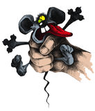 Rato à disposicão ilustração do vetor