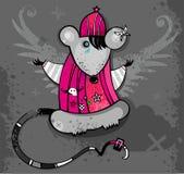 Rato de Emo Fotografia de Stock Royalty Free