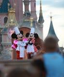 Rato de Mickey & de Minnie foto de stock