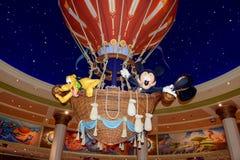 Rato de Mickey com seu Plutão do cão Foto de Stock Royalty Free