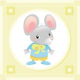 Rato do bebê ilustração do vetor