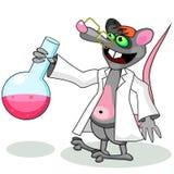 Rato do laboratório ilustração stock
