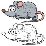 Rato dos desenhos animados Foto de Stock Royalty Free