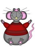 Rato dos desenhos animados ilustração stock